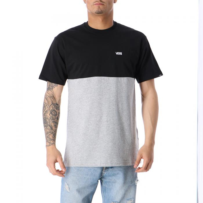 vans t-shirt e canotte black athletic heather