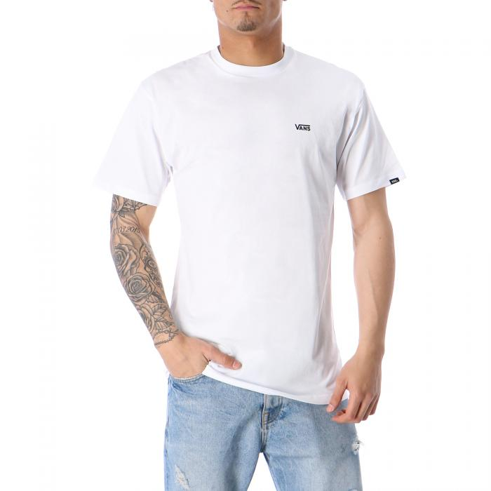vans t-shirt e canotte white black