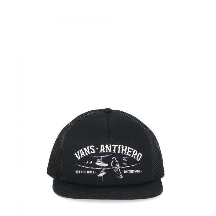 vans cappelli con visiera black zinnia