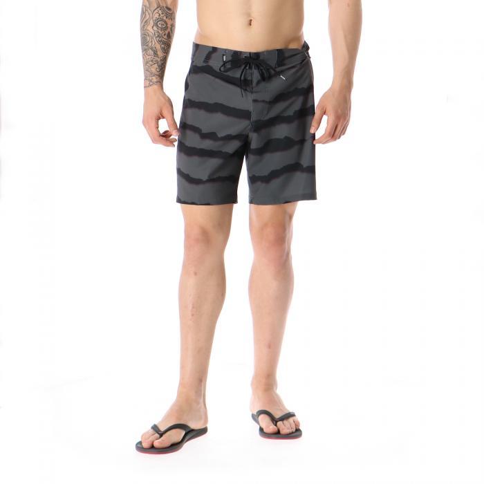 vans beachwear black