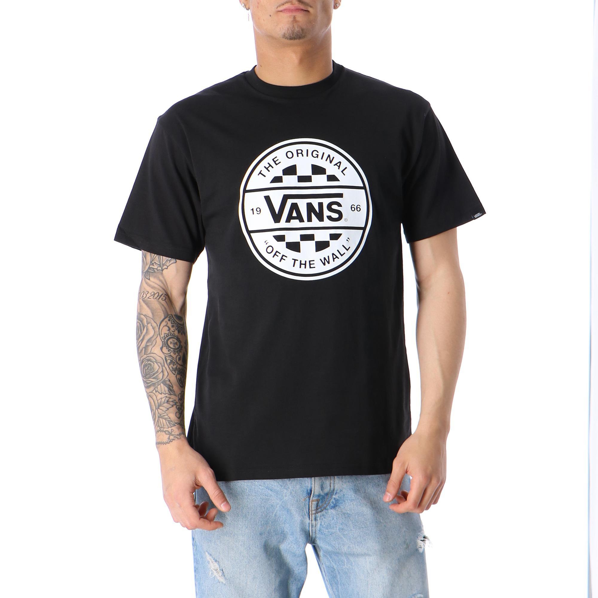 e47c3cf0 Vans Checker Co. Tee Black White | Treesse