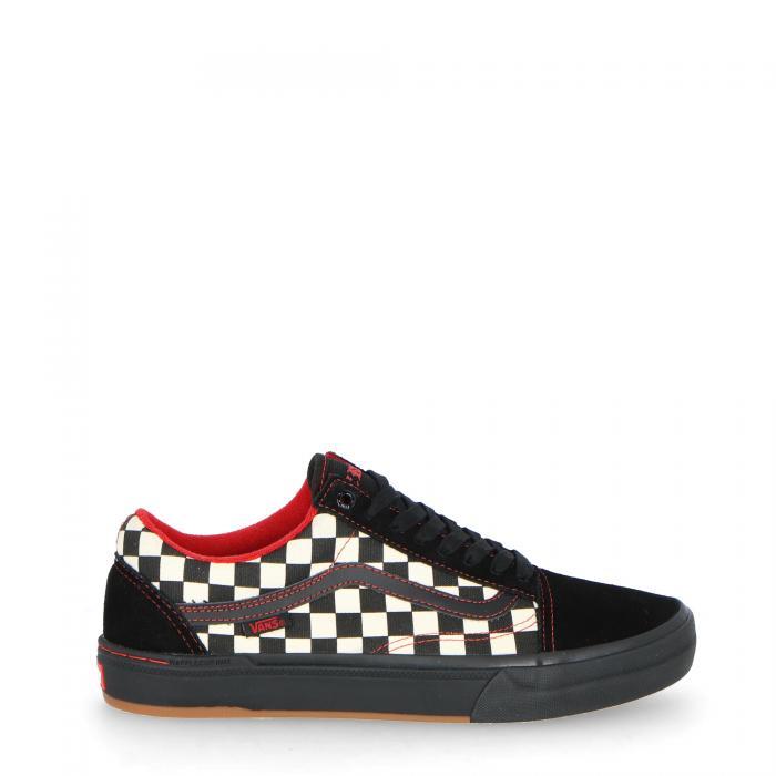 vans scarpe skate black checkerboarder