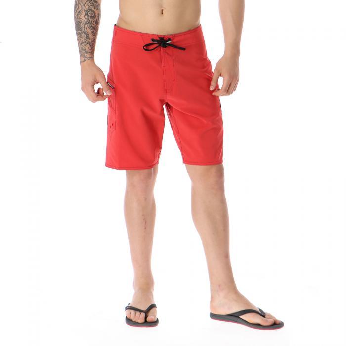 volcom beachwear motorhead red