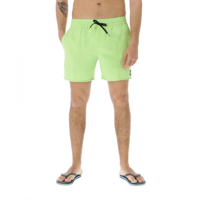 volcom beachwear neon green