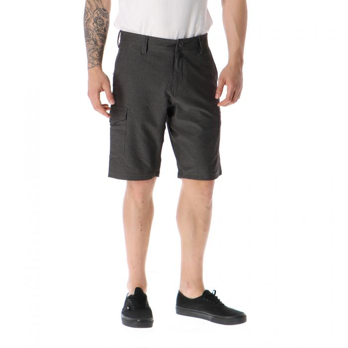 volcom shorts charcoal heather