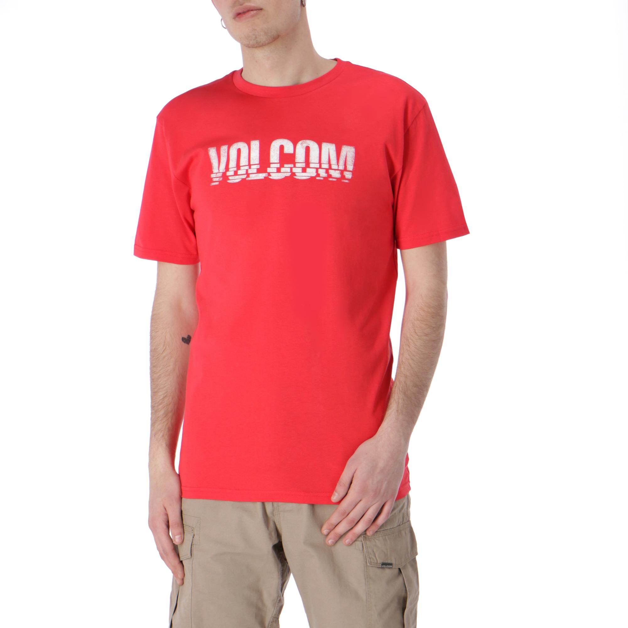 c0ef7557 Volcom Chopped Edge Basic Tee True Red | Treesse