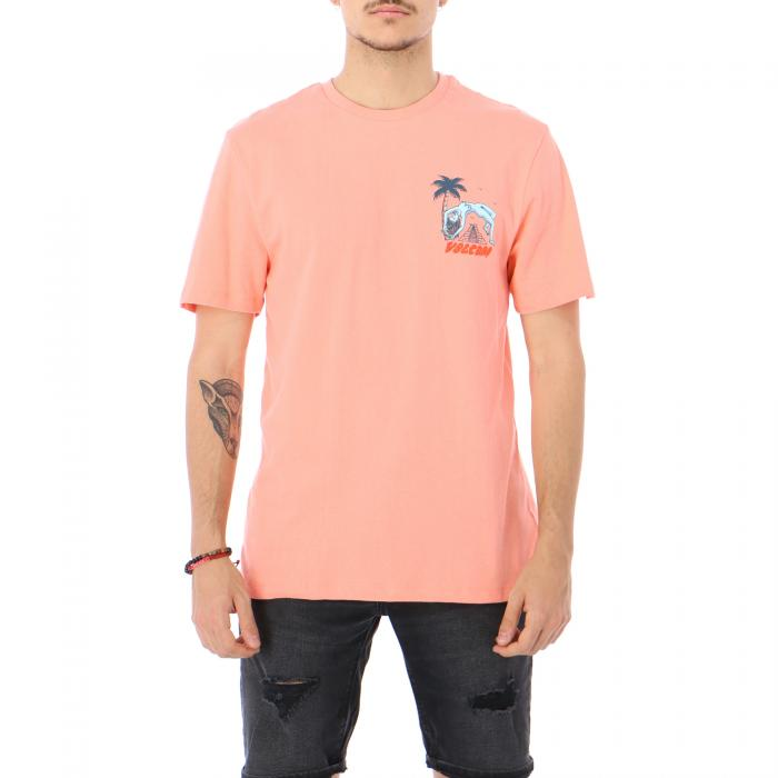 volcom t-shirt e canotte orange glow