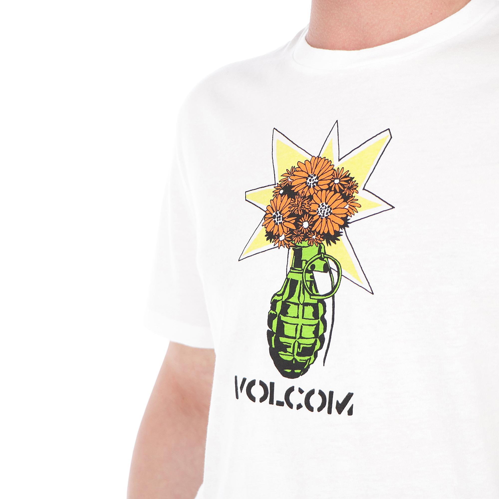 Volcom Grenade Tee WHITE