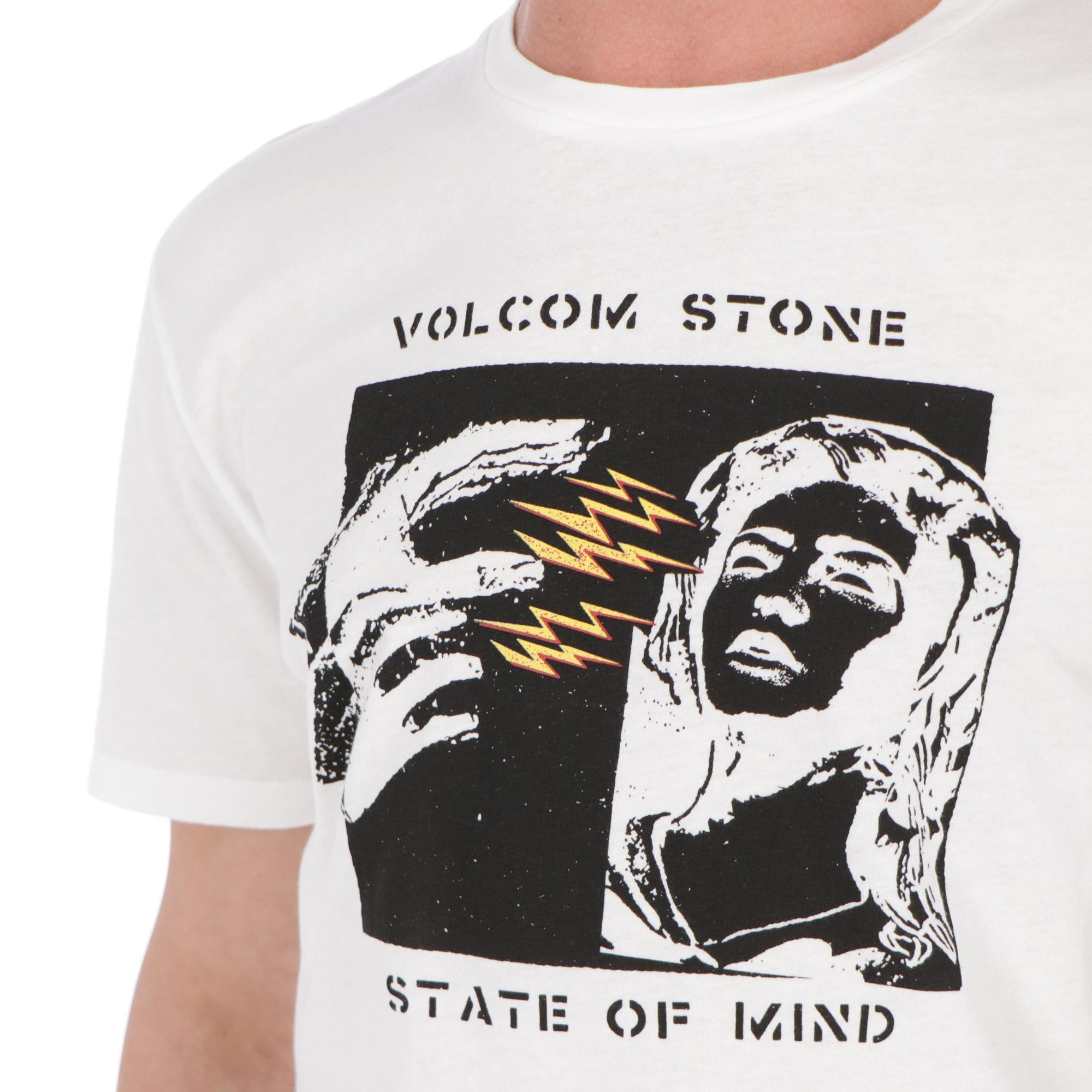 Volcom State Of Mind Tee WHITE