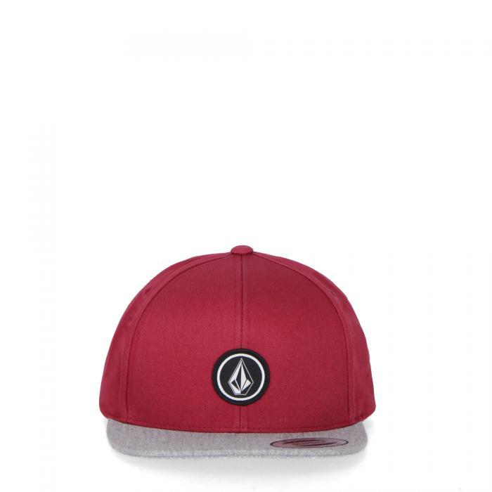volcom cappelli burgundy