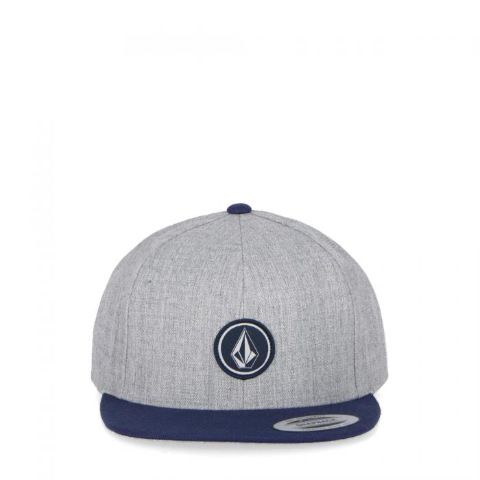 volcom cappelli con visiera medium grey
