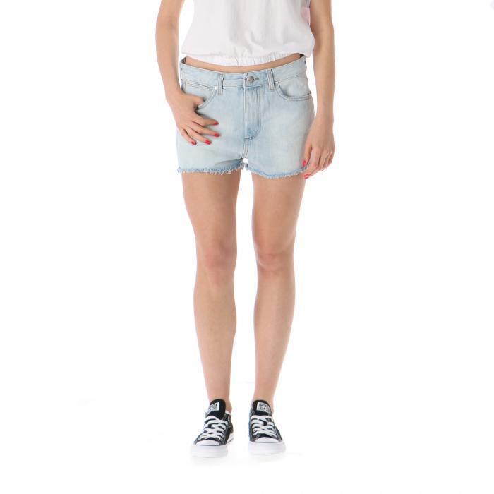 wrangler shorts icy blue