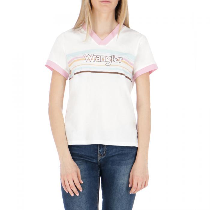 wrangler t-shirt e canotte off white