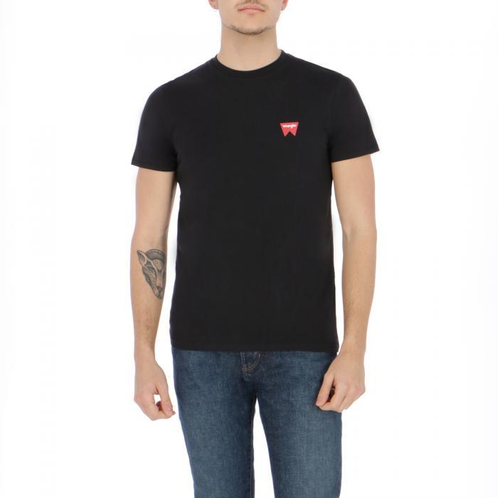 wrangler t-shirt e canotte black