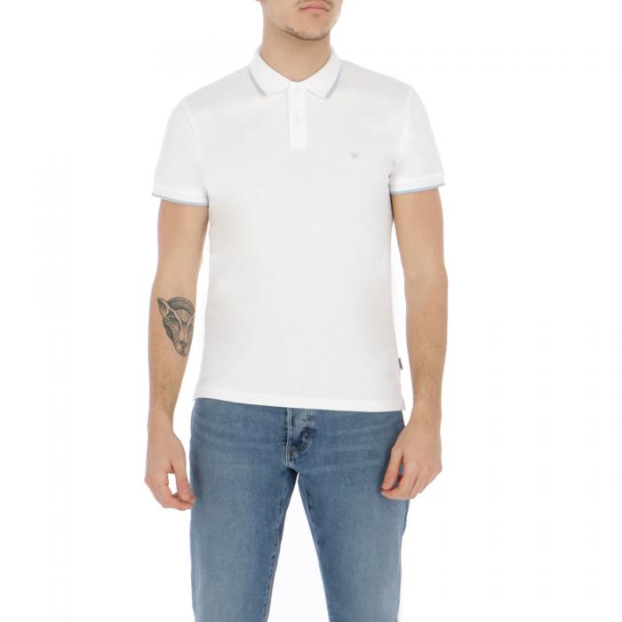 wrangler polo white