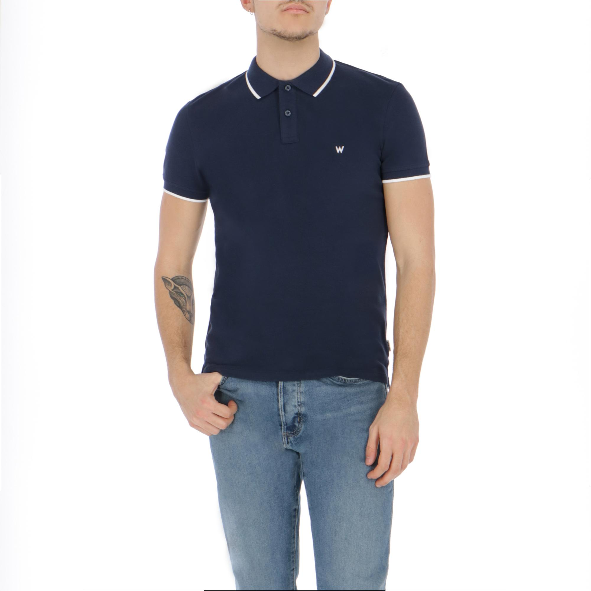 65bed1c3 Wrangler Polo Navy | Treesse