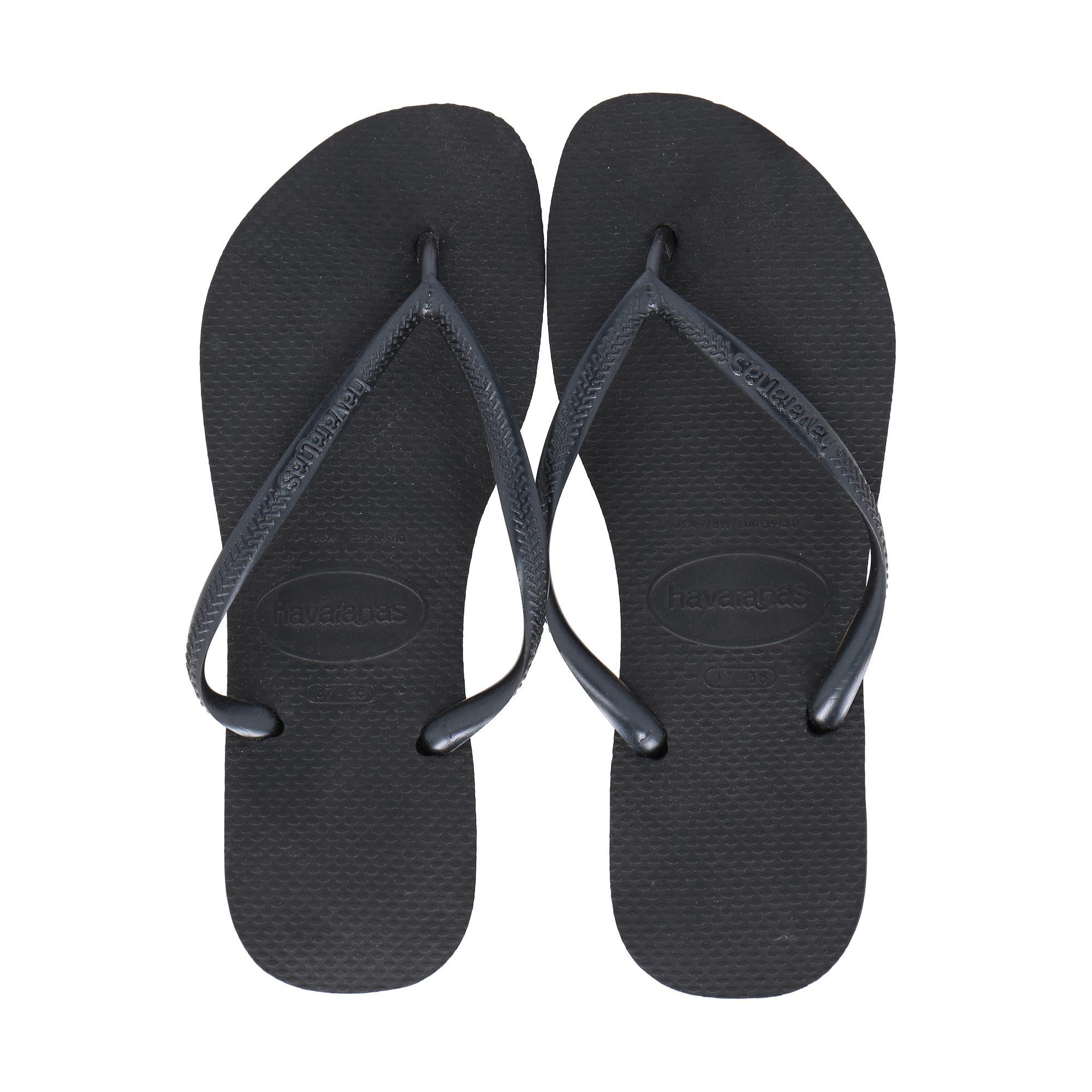 7b7a4c76a3a8 WOMAN FLIP-FLOPS. Havaianas Slim Black