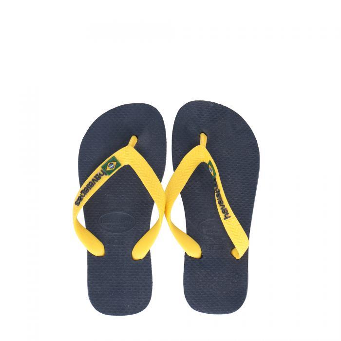 havaianas sandali e ciabatte navy blue/yellow