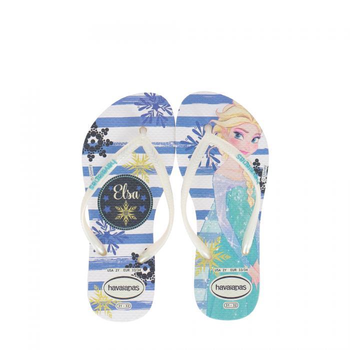 havaianas sandali e ciabatte white/royal