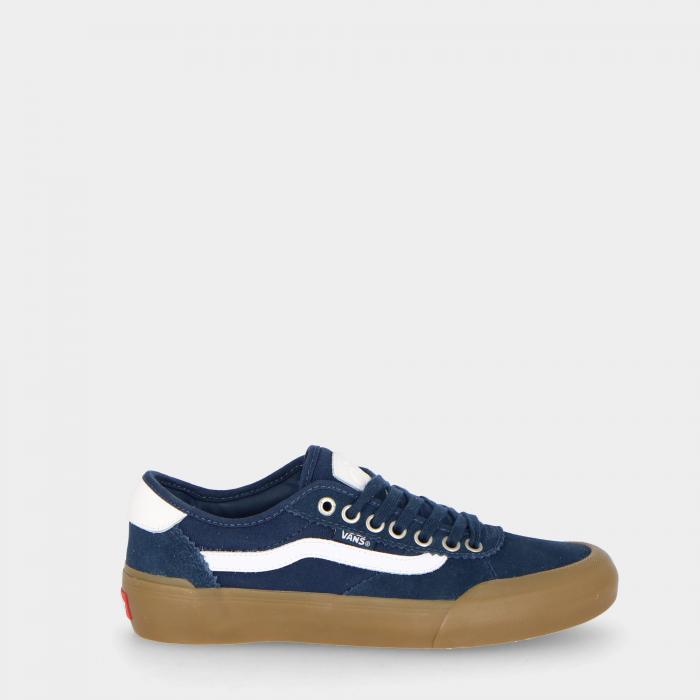 vans scarpe skate blue/white