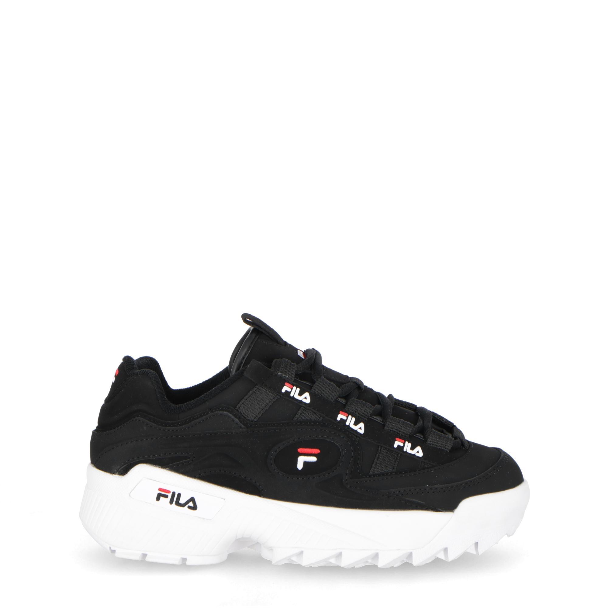 ff0c0c2c630 Fila D-formation Black white fila Red