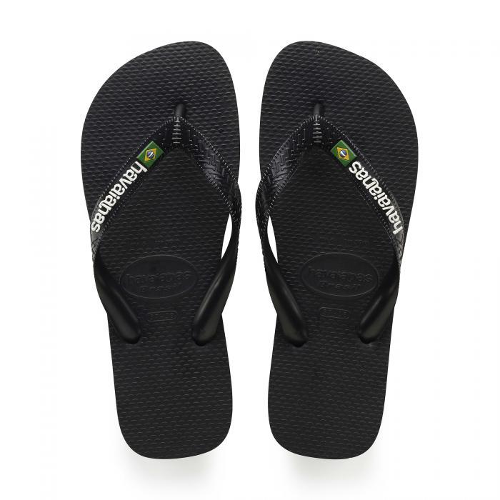 havaianas sandali e ciabatte black/black