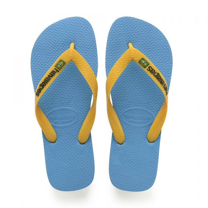 havaianas sandali e ciabatte turquoise/citrus yellow