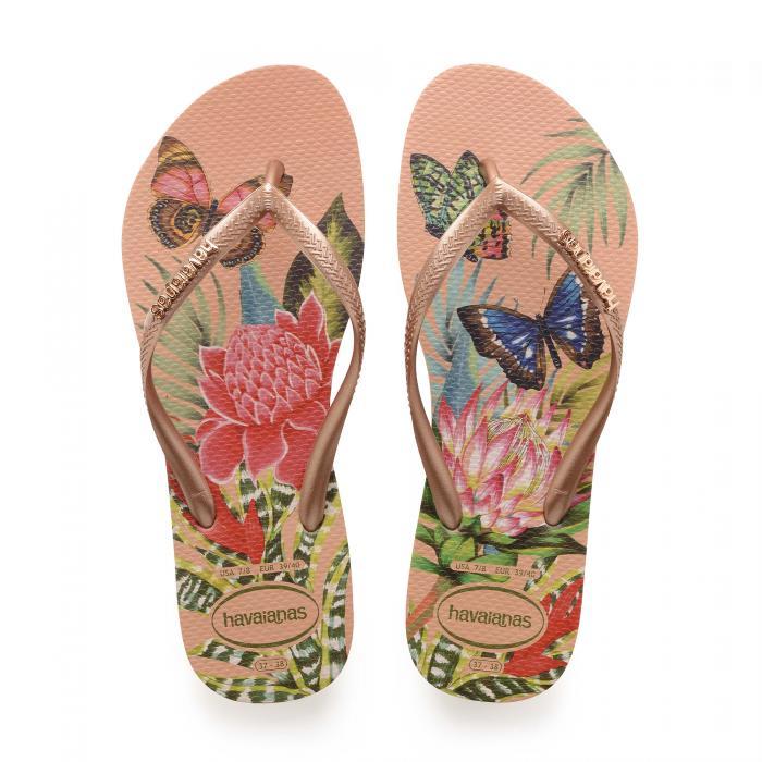 havaianas sandali e ciabatte salmon nude