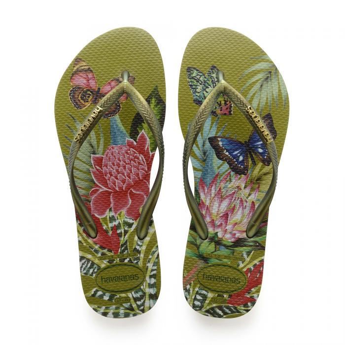 havaianas sandali e ciabatte camo green