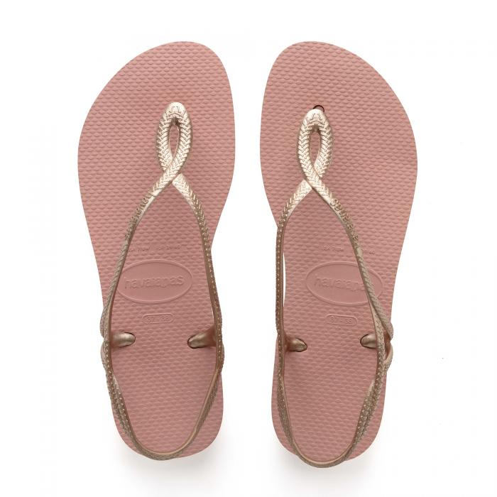 havaianas sandali e ciabatte rose nude