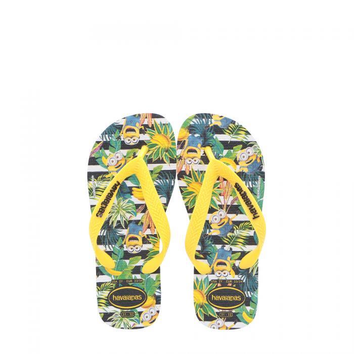 havaianas sandali e ciabatte white/citrus yellow