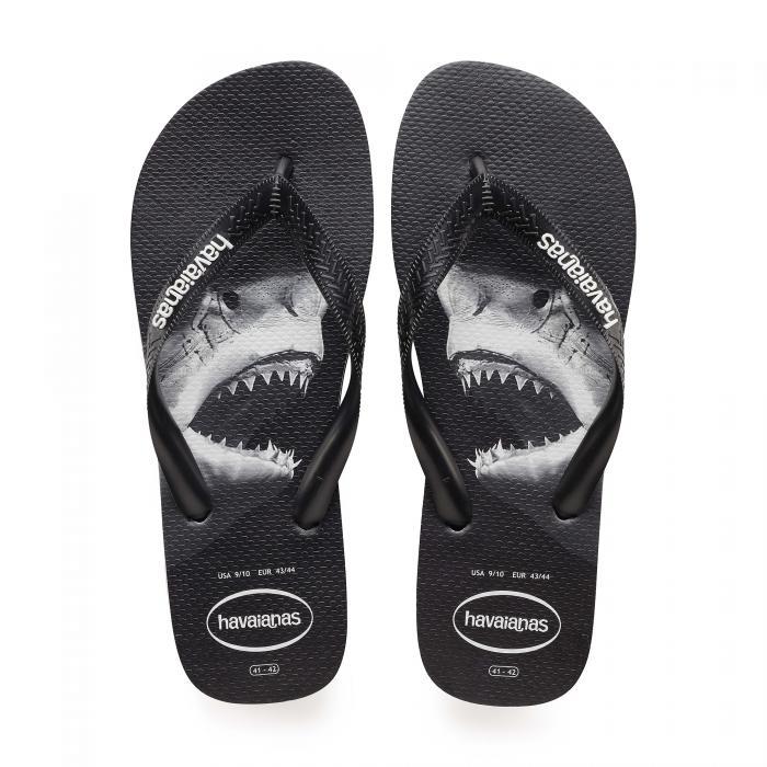 havaianas sandali e ciabatte black/black/grey