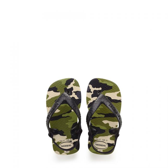 havaianas sandali e ciabatte beige/black