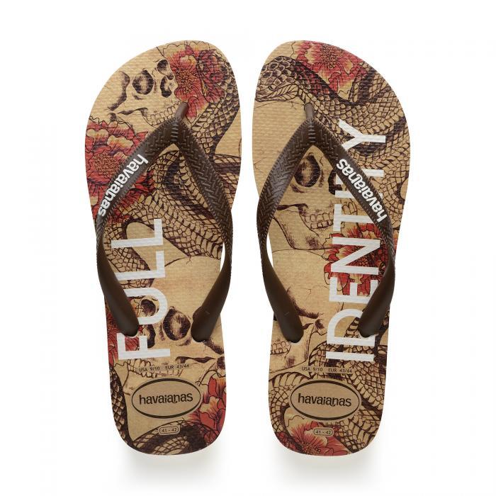 havaianas sandali e ciabatte beige/brown