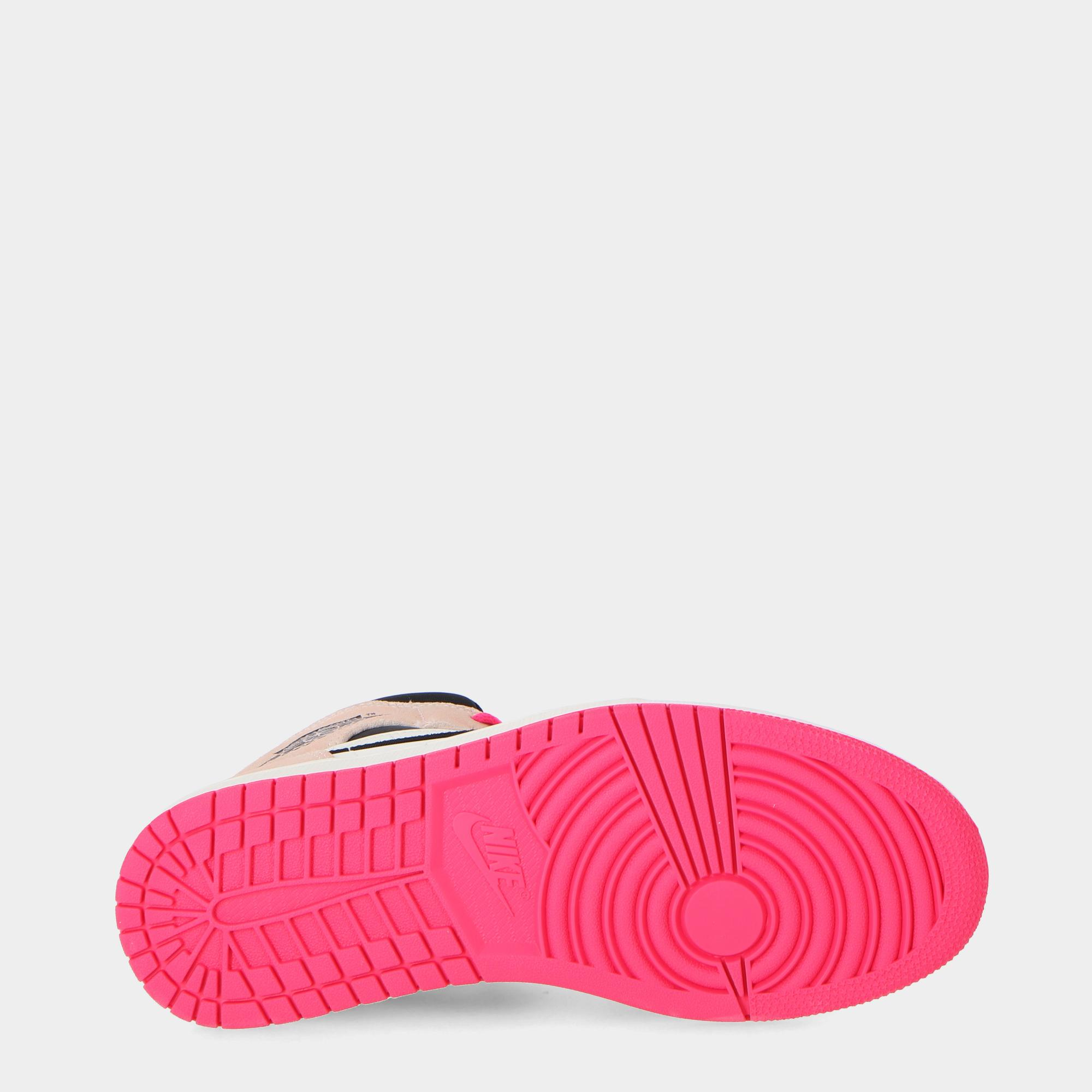 Air Jordan 1 Mid<br/> Crimson tint hyp pink blk sail