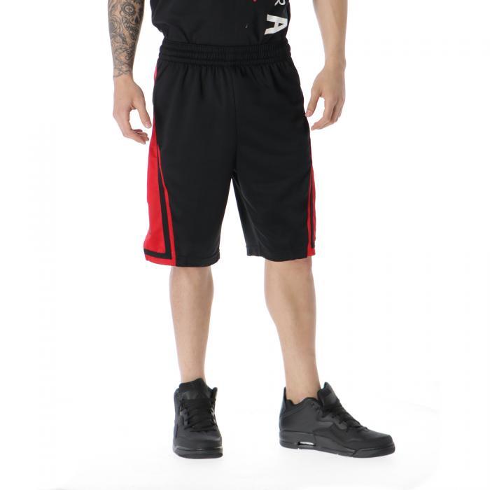 jordan sportivi black gym red black