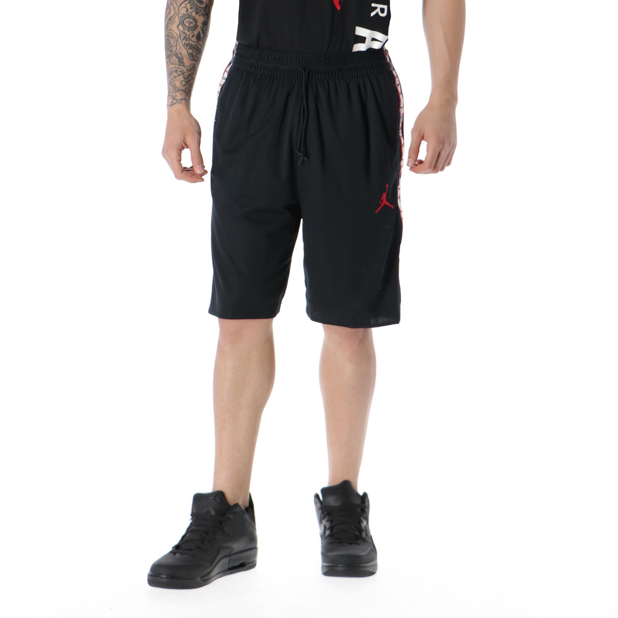 91f1135adba Jordan Tear-away Short<br/> Black Gym Red   Treesse
