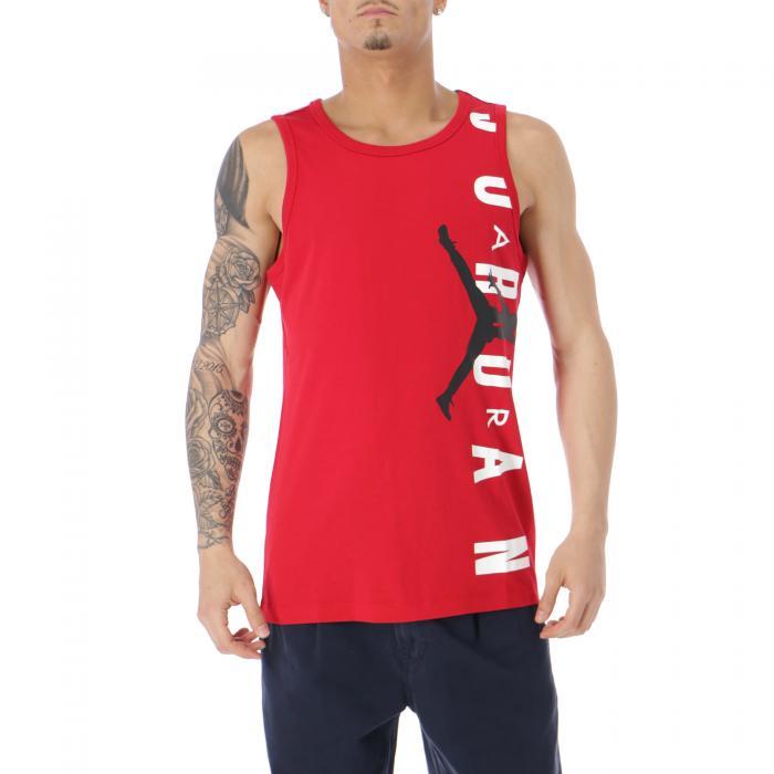 jordan t-shirt e canotte gym red black