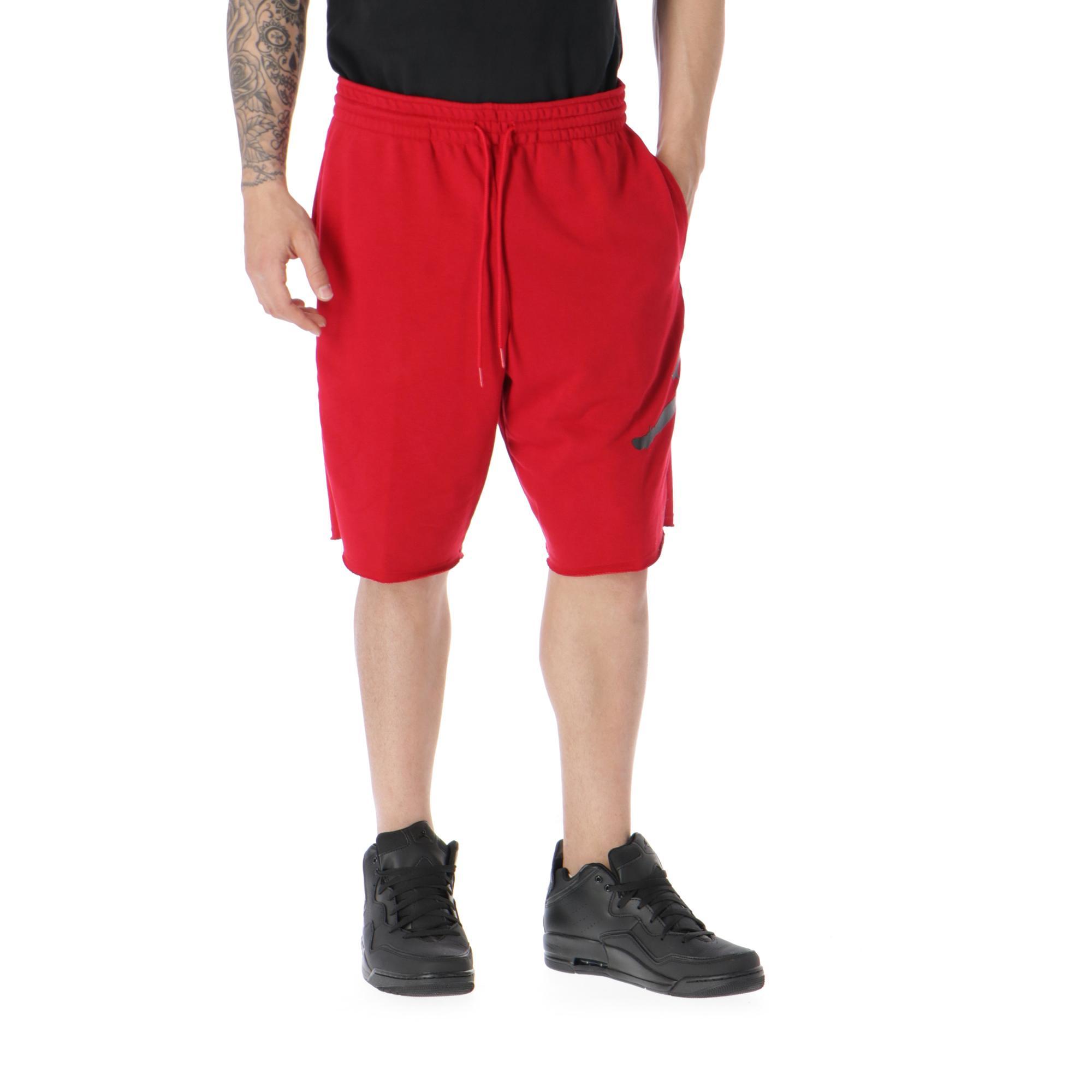 cheap for discount 59db7 a30f5 Jordan Jumpman Air Fleece Short Gym red black