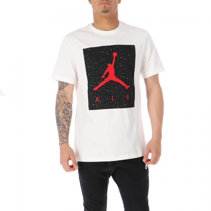 jordan t-shirt e canotte white iron grey gym red