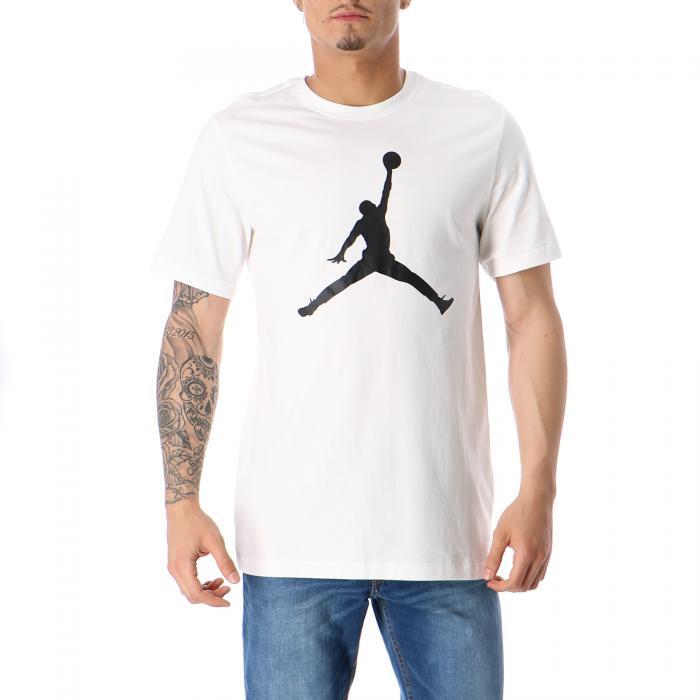 jordan t-shirt e canotte white black