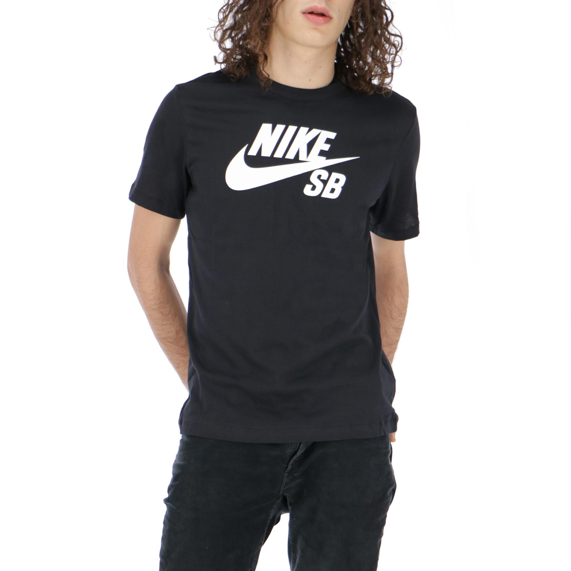 1ae229132 Nike Sb Dry Tee Dfct Logo Black White   Treesse