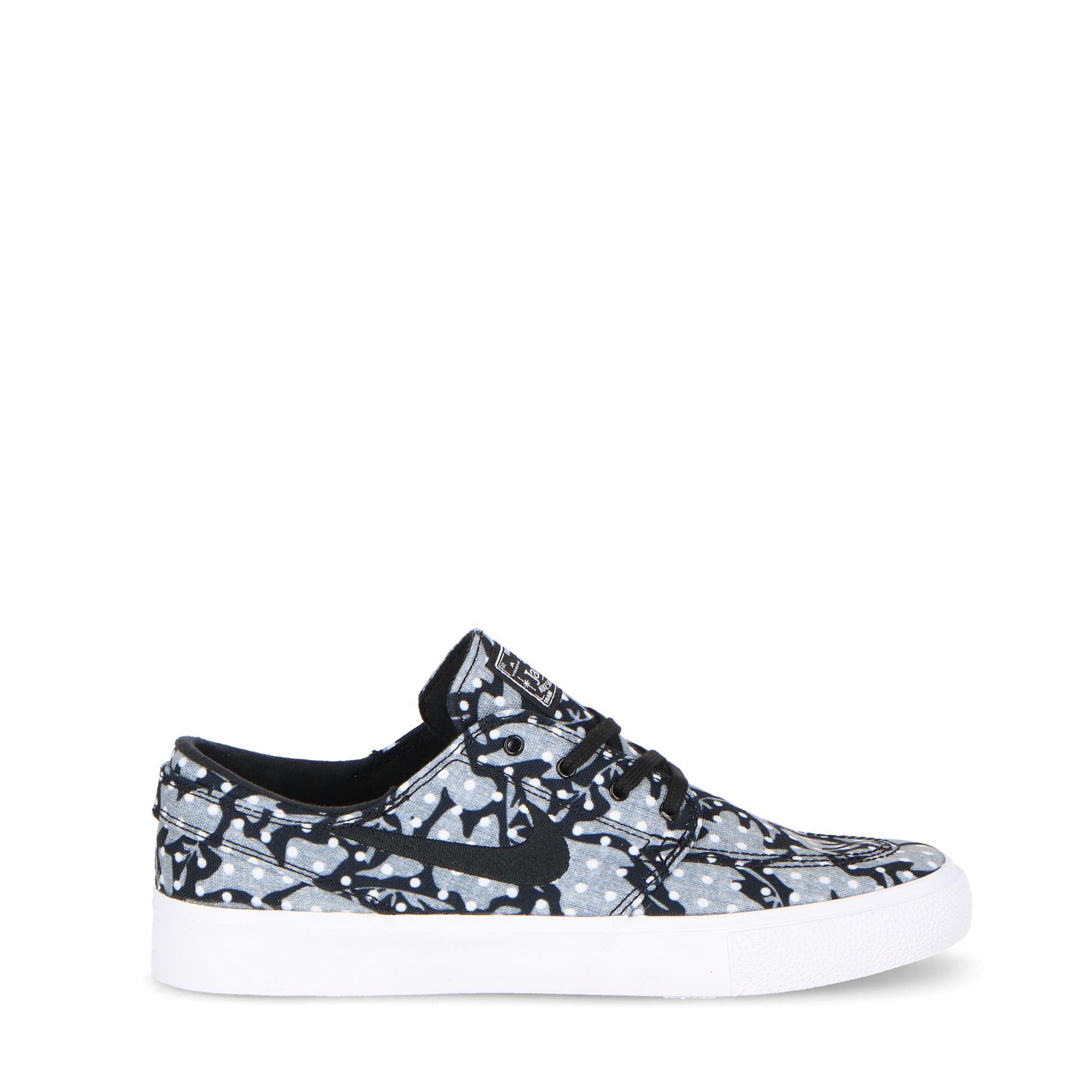 outlet store bd8ce c8da5 Nike Sb Zoom Janoski Canvas Rm Black white grey