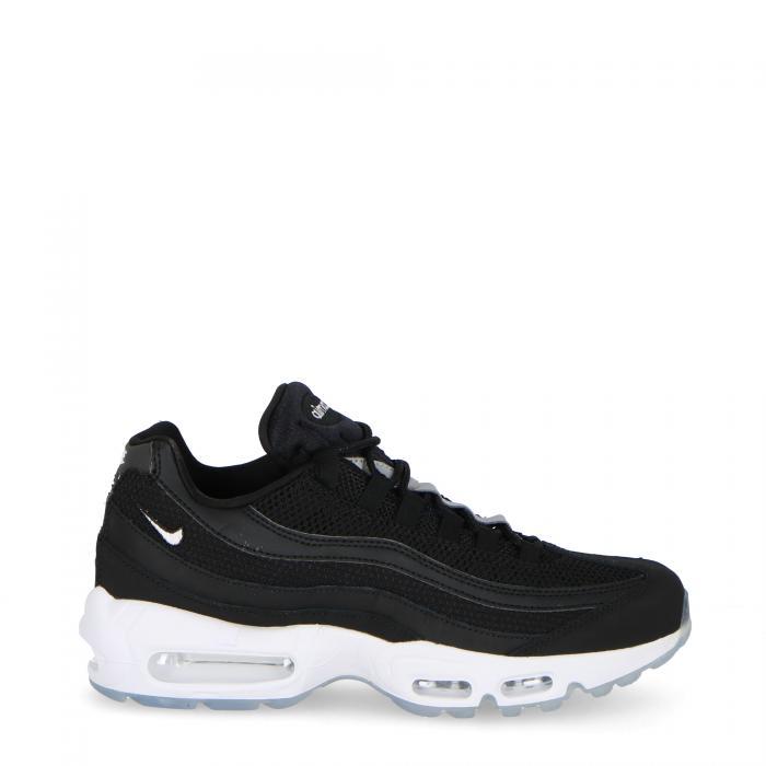 nike scarpe lifestyle black white reflect silver