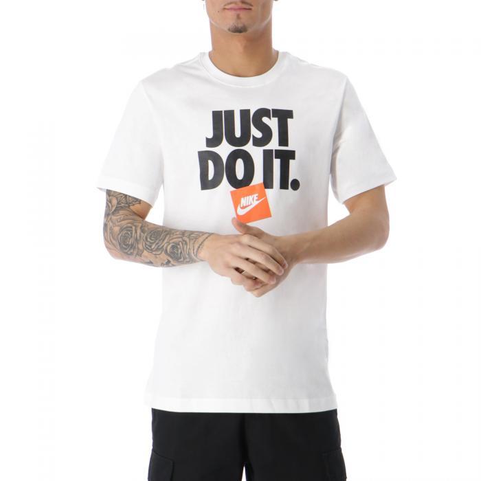 nike t-shirt e canotte white white