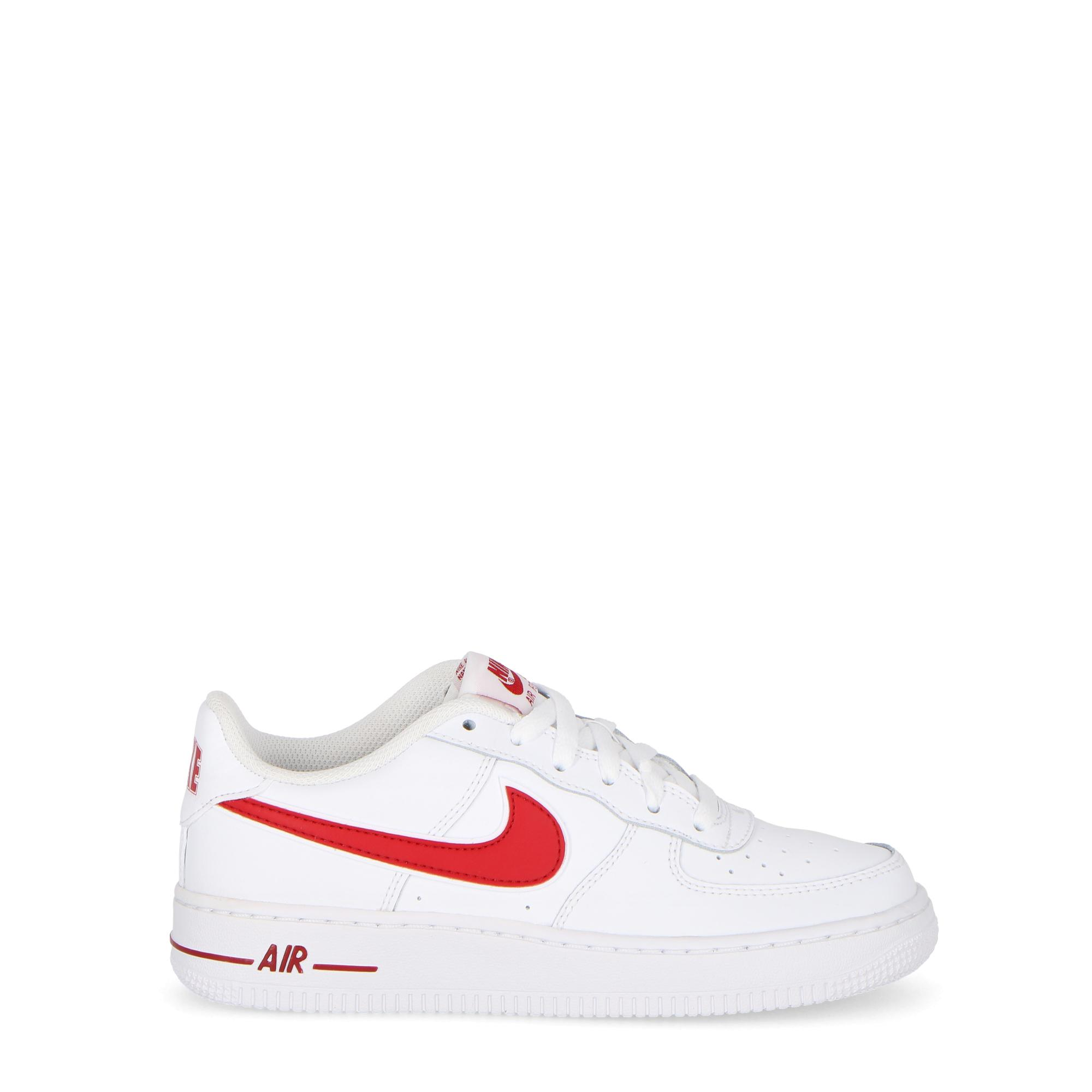 fb8092d41b Nike Air Force 1 3(gs) - Kids White Gym Red | Treesse
