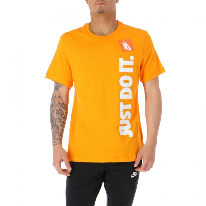 nike t-shirt e canotte orange peel light cream