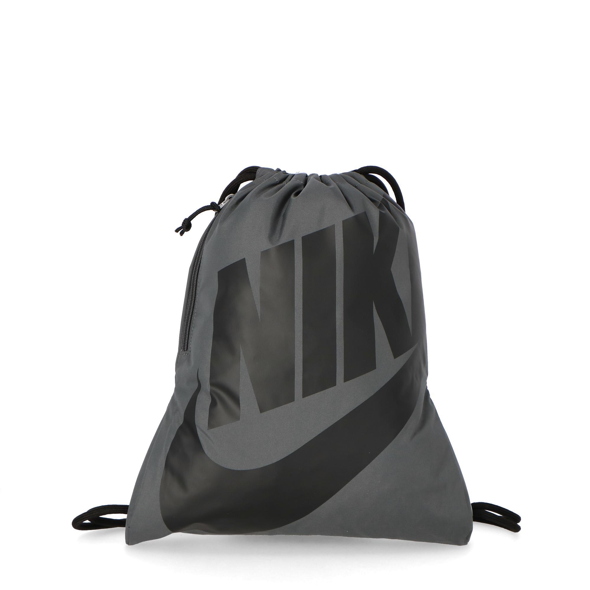 super popular 5b395 fd80f Nike Heritage Gym Sack D grey black