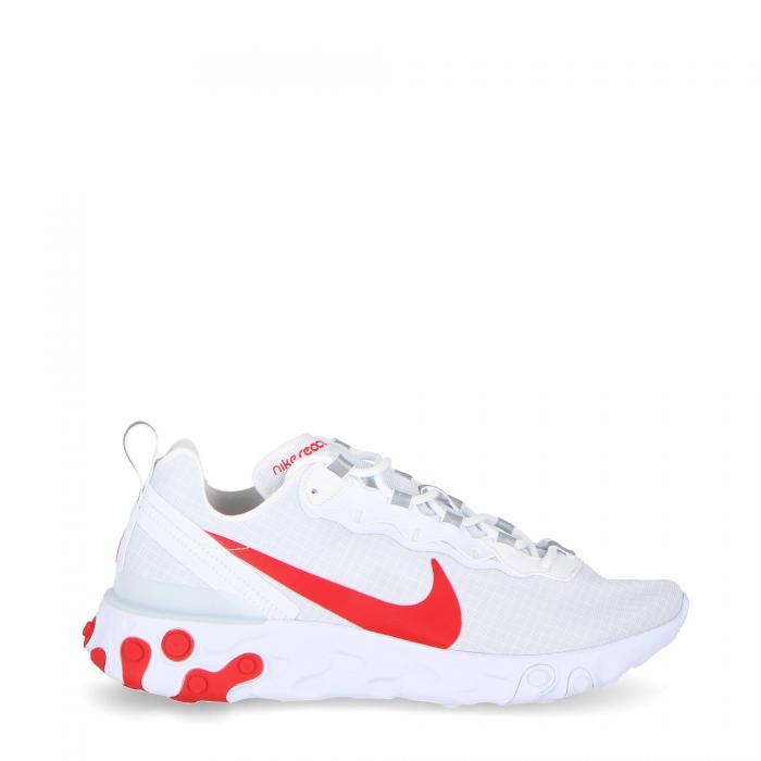 nike scarpe lifestyle white/university red