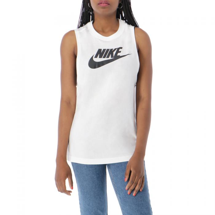 nike t-shirt e canotte white black